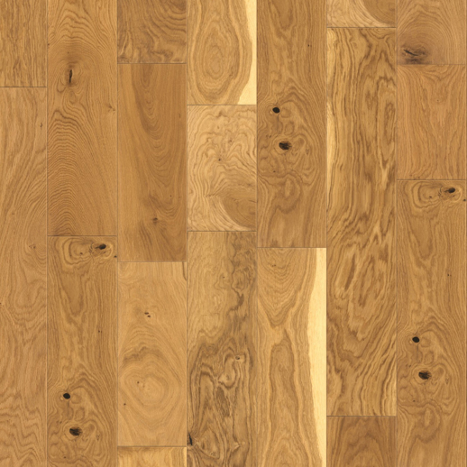 18mm x 150mm Natural Oak - Smooth Oiled