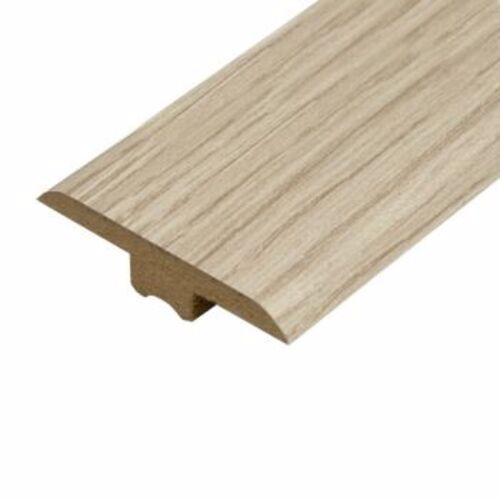 White Varnished Oak Laminate Doorbar - T-Bar 0.9m