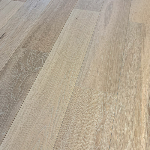 Brushed Oak White 13mm Engineered Oak