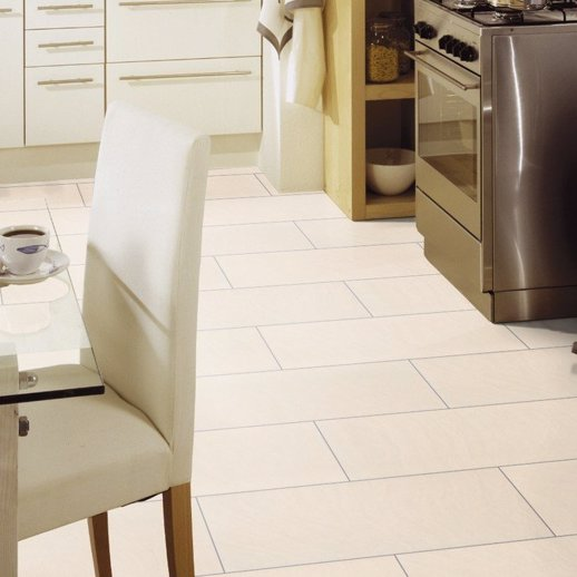Cream Stone Tile Effect Laminate Flooring