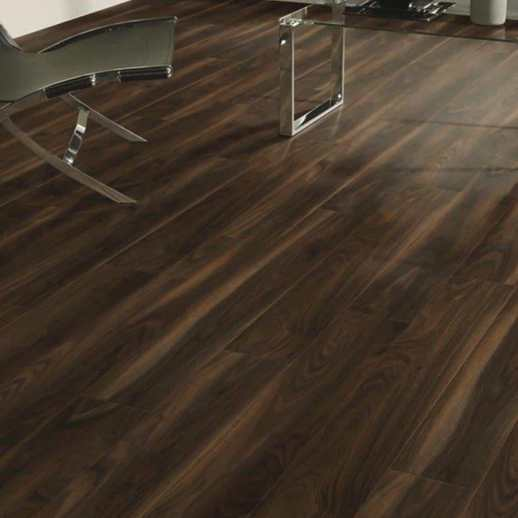 Dark Walnut 8mm Laminate Flooring