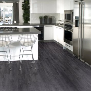 Charcoal Grey Oak LVT Click