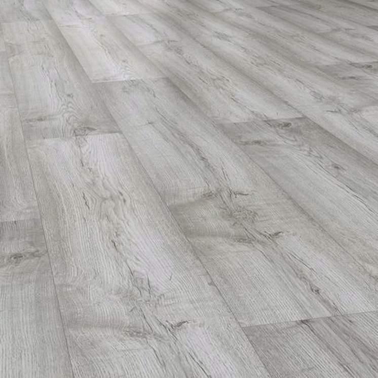 Lighthouse Grey Oak 8mm Laminate, Gosford Light Grey Oak Effect Laminate Flooring