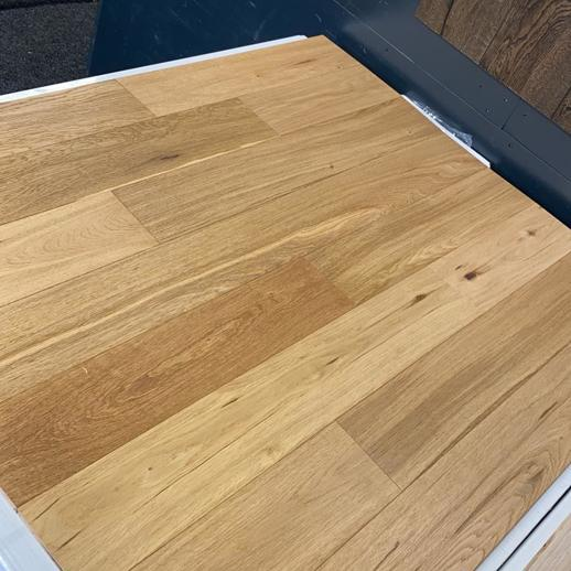 13mm x 127mm Brushed & Lacquered Engineered Oak