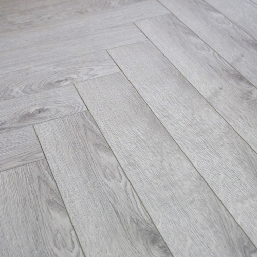 Grey Oak 12mm Herringbone