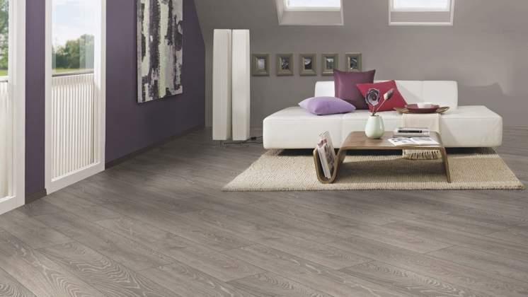 Sydney Grey Oak 12mm Floor Depot, Grey Laminate Flooring With Blue Walls
