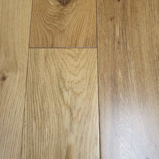 14mm x 150mm Lacquered Engineered Oak Flooring