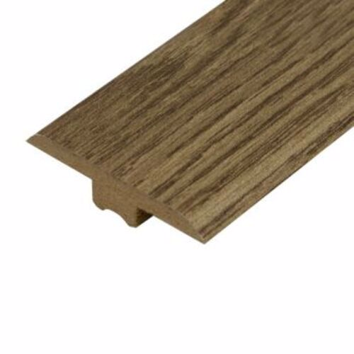 Oak Brown Laminate Doorbar - T-Bar 0.9m
