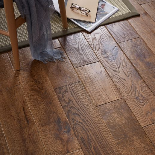 Skanor 18mm Rustic Solid Oak Flooring