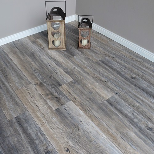 Distrssesd Grey Oak 12mm Laminate Flooring
