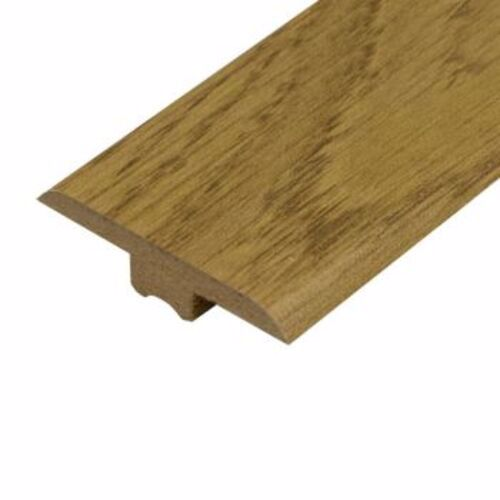 Natural Varnished Oak Laminate Doorbar - T-Bar 0.9m