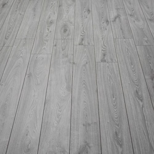 Timeless Grey Oak 12mm Laminate Flooring