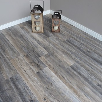 Distressed Grey Harbour Oak 12mm Laminate Flooring