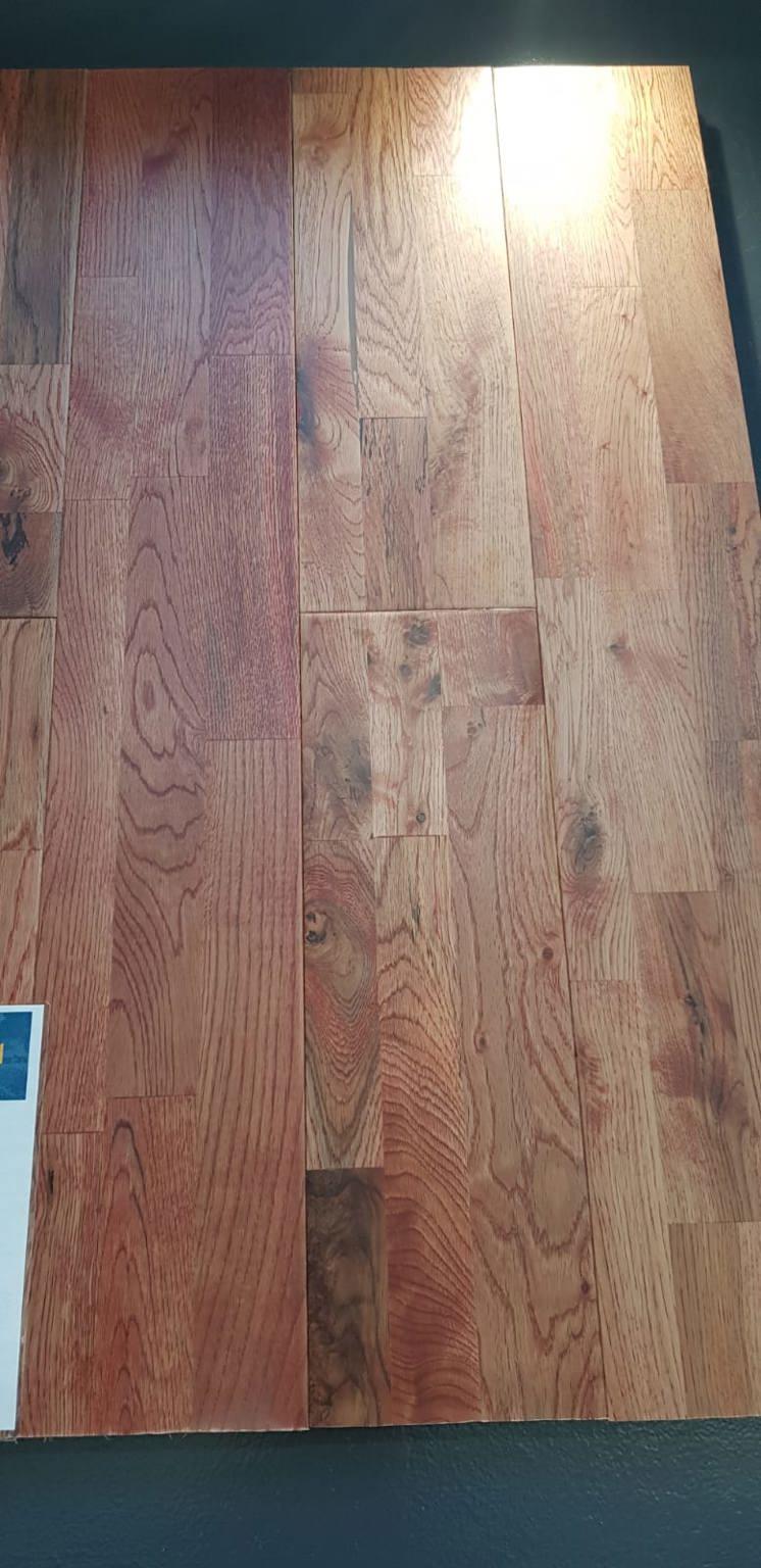 3 Strip Rustic Solid Oak Flooring Floor Depot