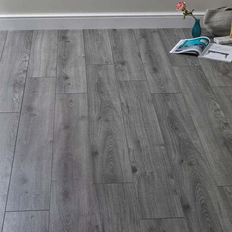 Rich Grey Oak 7mm Laminate Flooring, Grey Oak Laminate Flooring