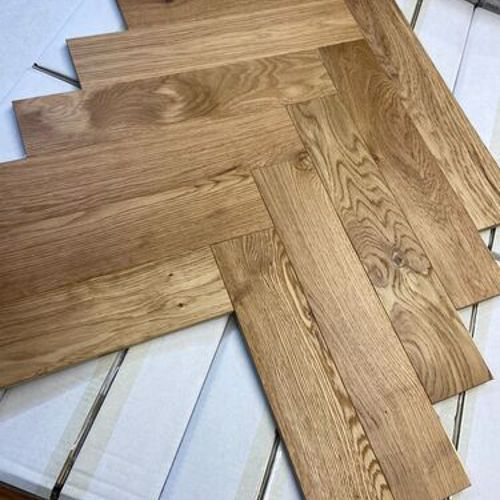 14mm Herringbone Engineered Oak