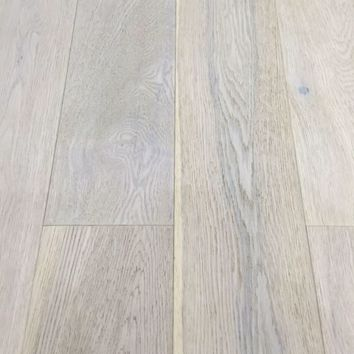 Washed Grey Oak Engineered Click Wood Flooring