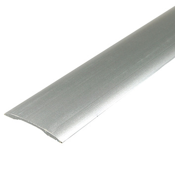 Matt Silver Self-Adhesive Door Strip