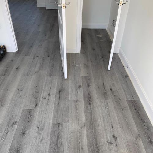 Forest Oak Grey SPC 4mm Waterproof Vinyl Click