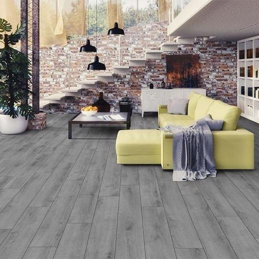 Rich Grey Oak 8mm Laminate Flooring