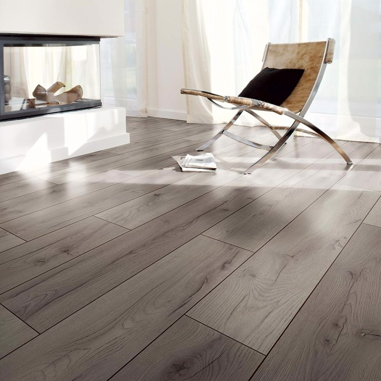 Dove Grey 7mm Laminate Flooring