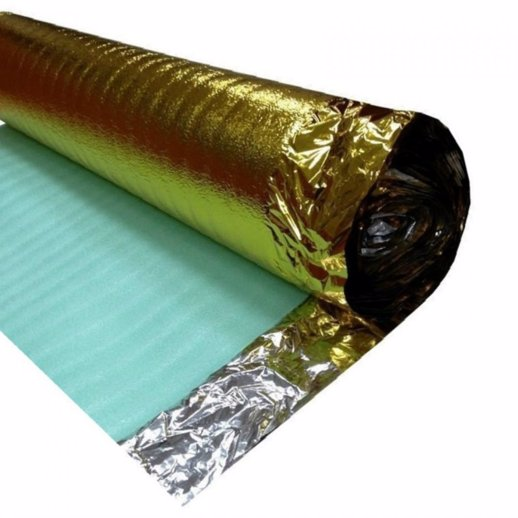 Comfort Gold 3mm Underlay 15m2